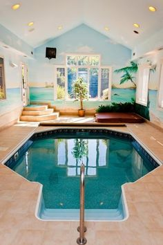 sweet indoor pools. indoor pool  hot tub Indoor and in a single family home Sweet Love love