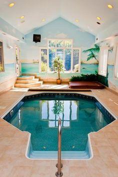 Nice Indoor Pool U0026 Hot Tub