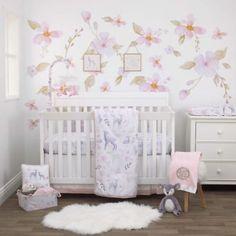 Cocalo Sugar Plum 9 Piece Crib Bedding Set Grandbaby Home Sweet