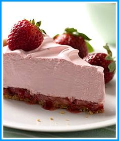 Cool n Easy Strawberry Pie (Low Cal- 15 min!)