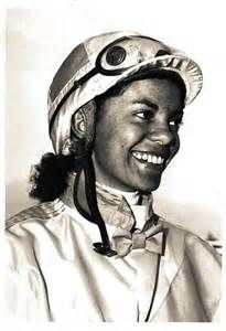 Jockey Cheryl White: The first African-American female Jockey in the United States . Portraits were found pictures and they were taken by the race track photographer at the time.