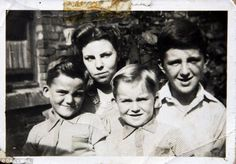 George with siblings Louise, Harry and Peter