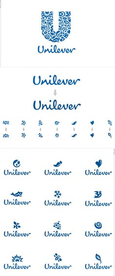Logo Reductions for Screen Use: Unilever