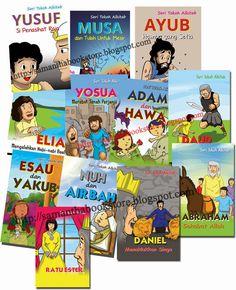 Samantha Bookstore: Seri Tokoh Alkitab Yosua, Yusuf dan Musa