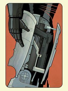 Hero Complex Gallery - Weapon of Choice Artshow Matt Ferguson – Robocop