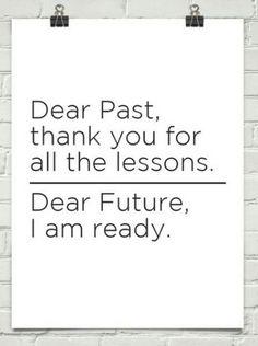 Past vs. Future