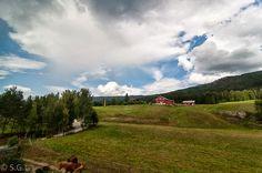 El tren de Oslo a Bergen. Noruega. Post en blog Anden 27. http://anden-27.blogspot.com.es