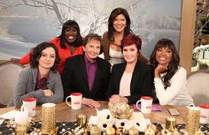 The ladies of The Talk and Barry Manilow.