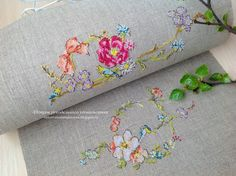 Beautiful stitching and detail in these lovely designs.