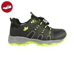 Lico Mädchensneaker Schuhe für Mädchen Leder Sneaker schwarz grau 1788 Teh3gEPX