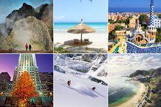 Reisekalender 2016: Die besten Reiseziele für jeden Monat des Jahres