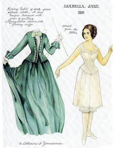 Isabella Jane Paper Doll