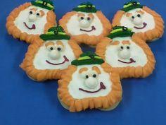 St Patrick's Day LEPRECHAUN Iced Sugar Cookies