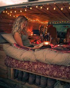 80 Best Ideas for Bohemian Hippie Van Life Bus Life, Camper Life, Vw Camper, Travel Camper, Van Vw, Kombi Home, Van Home, Vw Vintage, Van Interior