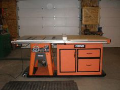 Shop Built Tablesaw upgrade - The Garage Journal Board