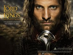 Viggo Mortensen in The Lord of the Rings: The Return of the King.