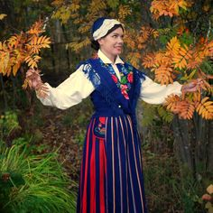 Folk Costume, Costumes, Folk Clothing, Color Shapes, Beautiful Outfits, Colours, Traditional, Embroidery, Clothes
