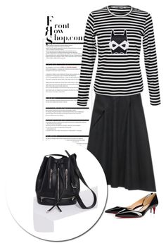 """""""Zippet bucket FRS"""" by pamela-802 ❤ liked on Polyvore featuring Arche, Christian Louboutin and Front Row Shop"""