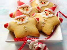 Receitas do bolinho para bolinhos crocantes de Natal - Receita gingerbread-nikolaeuse