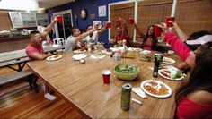 love the jersey shore table. its huge!