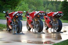 1997 916 SPS, 1996 916 SPA, 1995 916 Racing (matt buckhold)