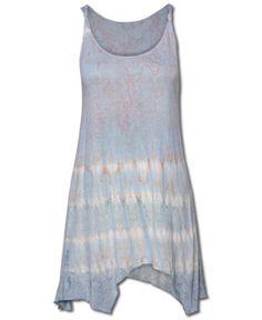 SoulFlower-NEW! Whispered Tie-Dye Tank #pastel #tiedye