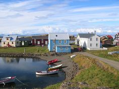 Flatey Island in the Westfjords