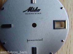 Mido Ocean Star powerwind Zifferblatt silber, NOS - like new, jetzt mit Preisvorschlag in unserem Ebay Shop-Store watch4you_bern