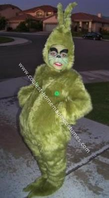 Disfraz de Grinch - Grinch homemade costume!