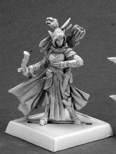 Pathfinder Miniatures (Shalelu, Ranger (v2) 60099) This Pathfinder model comes unpainted and unassembled. Assembly and painting required. Any photos of painted miniatures are for demonstration and ins