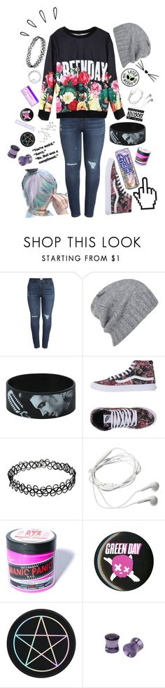 """"""".:she likes green day:."""" by dontfallasleepatthehelmm ❤ liked on Polyvore featuring Caslon, AllSaints, Hot Topic, Vans, CO, Samsung, Manic Panic NYC, Old Navy and plus size clothing"""