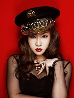 Sistar's Soyu's Alone album jacket photo