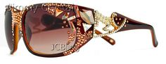 4GL933G3 Lady Gaga Style Sunglasses Brown Frame Polarized.