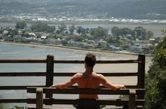 I love all benches that you can sit on, that have a view like this ;) Garden Route south Africa, good times, taking a break, loving the view All About Africa, Knysna, Port Elizabeth, Take A Break, Benches, Good Times, South Africa, I Am Awesome, Beautiful Places