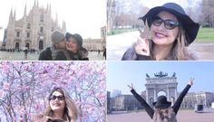 Vlog - Milão: Duomo | Galeria Vittorio Emanuelle | Castelo Sforzesco | S...