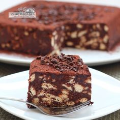 From my kitchen: Biscuit Cake No Cook Desserts, Delicious Desserts, Yummy Food, Sweet Recipes, Cake Recipes, Dessert Recipes, Cocinas Chocolate, Romanian Desserts, Romanian Food
