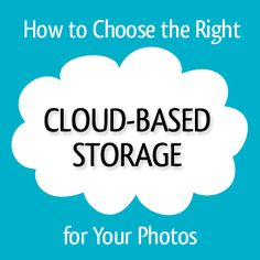 All the cloud storage options can be completely overwhelming! Professional Organizer Lauren Halagarda has done the research for you and sums it all up in this post! via simplify101.com