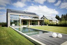 Modern detached passive house, Maisons Loginter