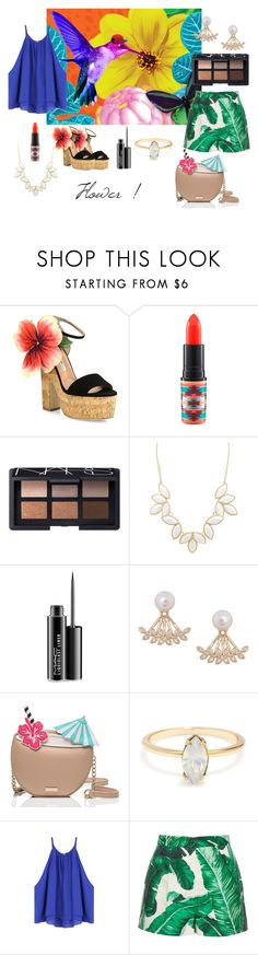 #24 Women Flower by ndreamcatcher on Polyvore featuring mode, Dolce&Gabbana, Brian Atwood, Kate Spade, Humble Chic, Charlotte Russe, NARS Cosmetics and MAC Cosmetics