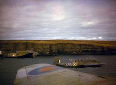 WORLD WAR II: 'Bristol Beauforts N1173/'MW-E' and AW242/'MW-B' of 217 Squadron…