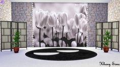 16 Best Wallpaper Cc Images Sims Cc Sims 4 Build Sims 4 Cc Furniture