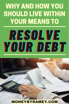 A considerable number of people will turn to advantage of using credit card to provide for their everyday expenses, thus resulting to a credit card debt. But luckily, there are lots of excellent approach to make paying off debt less agonizing. Click the photo to learn more why and how you should live within your means to resolve your debt. #ideas #debtfree #personalfinance #money #moneymanagement #finance #financialplanning #financialindependence #financialfreedom #savings #budgeting… Managing Money, Money Saving Tips, Financial Goals, Financial Planning, Living Within Your Means, Thing 1, Finance Blog, Budgeting Finances, Frugal Tips