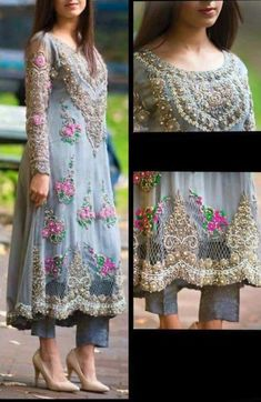 Colors & Crafts Boutique™ offers unique apparel and jewelry to women who value versatility, style and comfort. For inquiries: Call/Text/Whatsapp Pakistani Bridal Dresses, Pakistani Outfits, Indian Outfits, Party Wear Indian Dresses, Party Dress, Ethnic Fashion, Asian Fashion, Eid Outfits, Wedding Outfits
