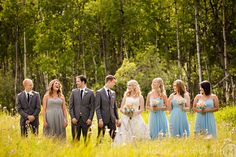 In case you're doing a mixed wedding party :: 5 Cute & Coordinated Ways to Dress a Mixed-Gender Wedding Party Groomsmen Grey, Groomsmen Outfits, Casual Wedding, Wedding Men, Dream Wedding, Wedding Attire, Male Bridesmaid, Bridesmaid Dresses, Grooms Party