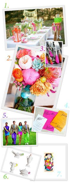 I love the Bouquet center piece.