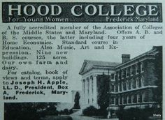 Hood College ad Print Advertising, Print Ads, Hood College, Home Economics, Maryland, Education, Onderwijs, Learning