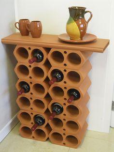 Botellero La Escandella Wine Rack, Diy Crafts, Cabinet, Storage, Apartment Ideas, Barware, Lounge, Decorating, Furniture