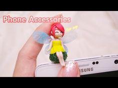 (실용성 없는ㅠㅠ)폰 이어캡 만들기 Phone Accessories * Ear cap - YouTube