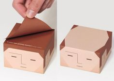 Funny Gift! Note paper cube