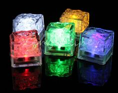 Accessorize Your Whisky | Blog #7 — SingleMalting | LED glowing ice cubes
